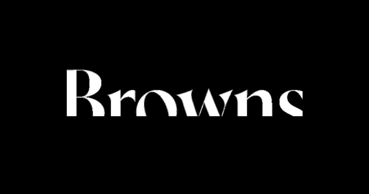 Shop Browns designer menswear from £30